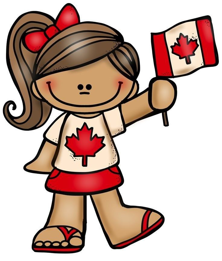Canada day july craft. 1 clipart activity