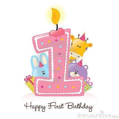 Happy st clip art. 1 clipart birthday candle