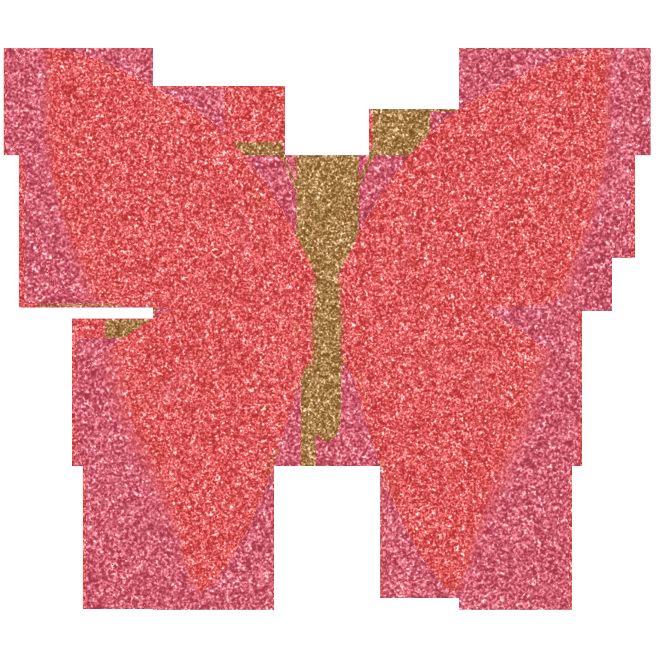 Hand clipart butterfly. Glitter