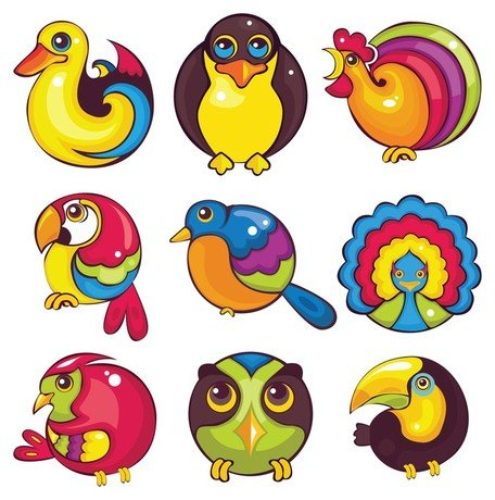 1 clipart cartoon. Free animal icon and