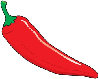 Red portal . 1 clipart chili