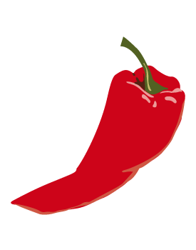 Pepper . 1 clipart chili