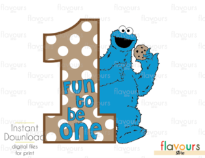 Fun to be one. 1 clipart cookie monster