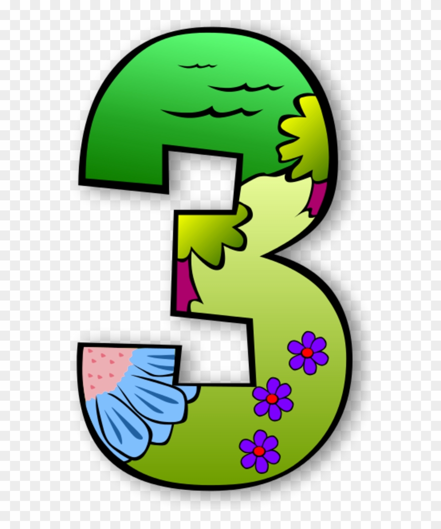 Creation clipart number. Numbers to color suggest