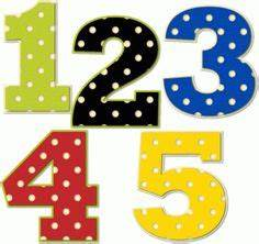 1 clipart dot. Preschool numbers number with