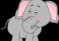 1 clipart elephant. Clip art arthurs free