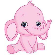 Cute cartoon elephants baby. 1 clipart elephant