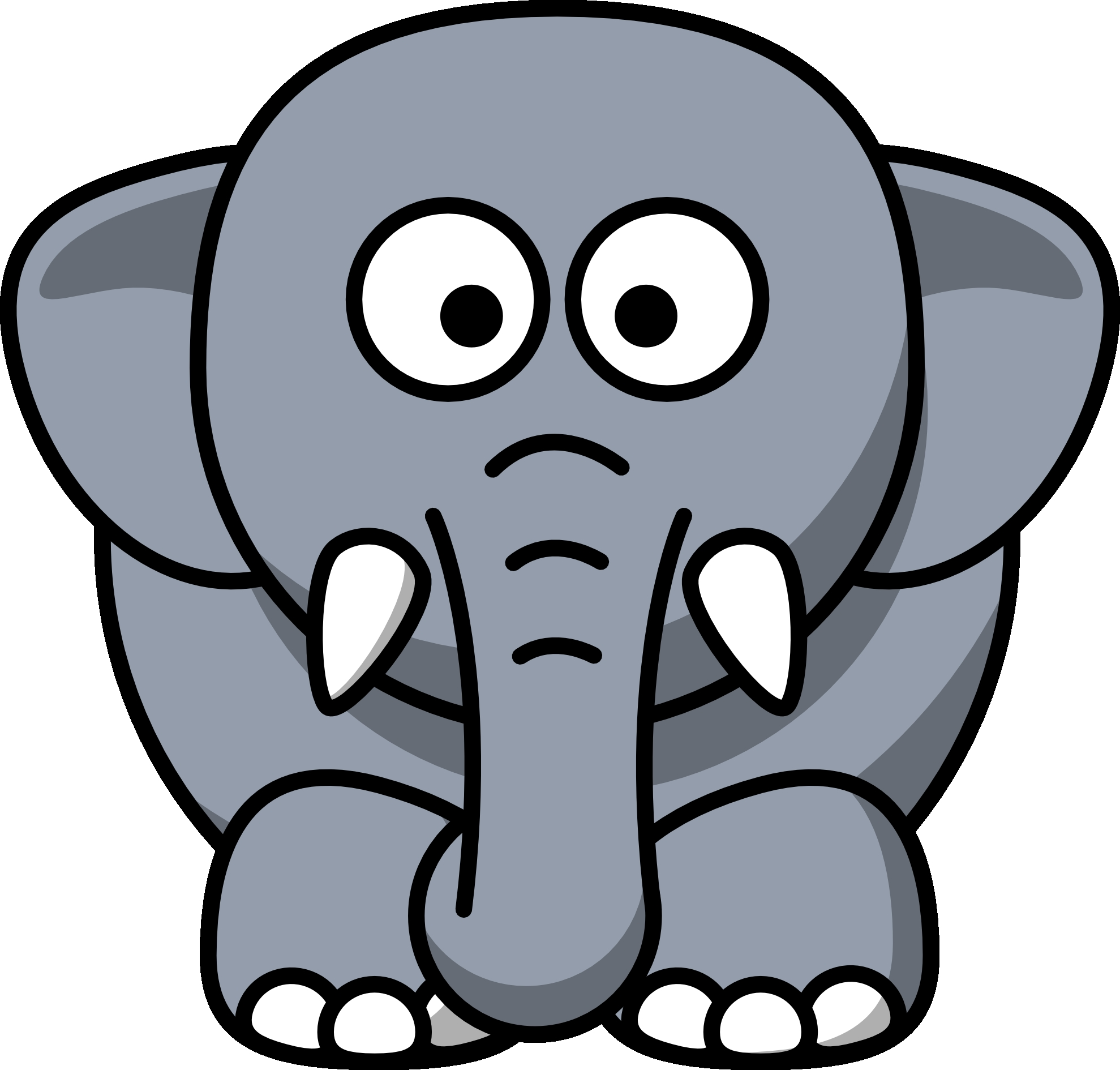 Awesome collection digital k. 1 clipart elephant