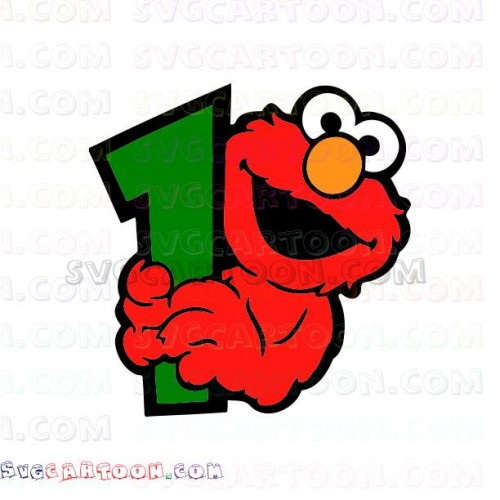 Face and holds in. 1 clipart elmo