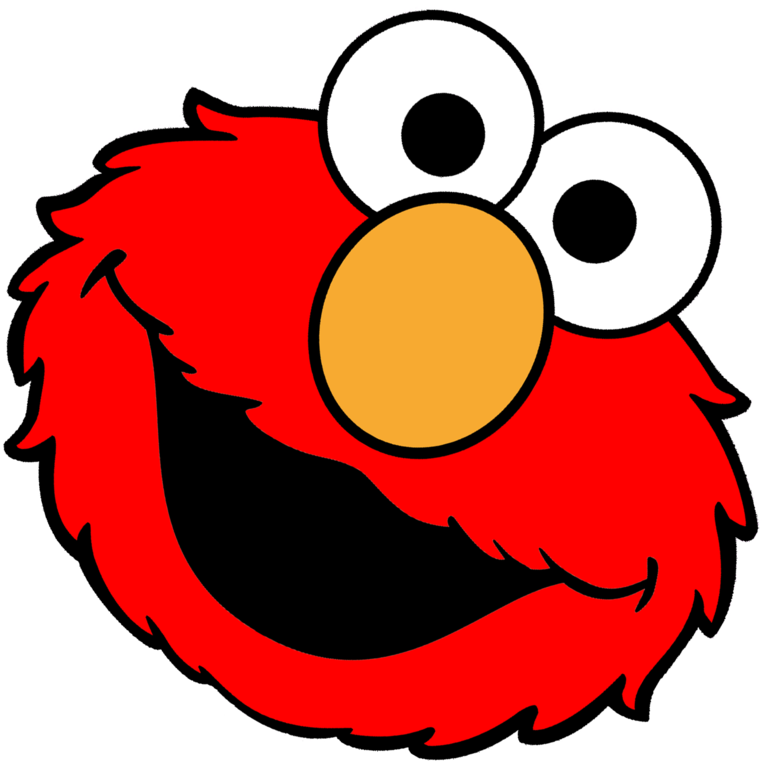 Face clipart beaver. Elmo images brush brushy