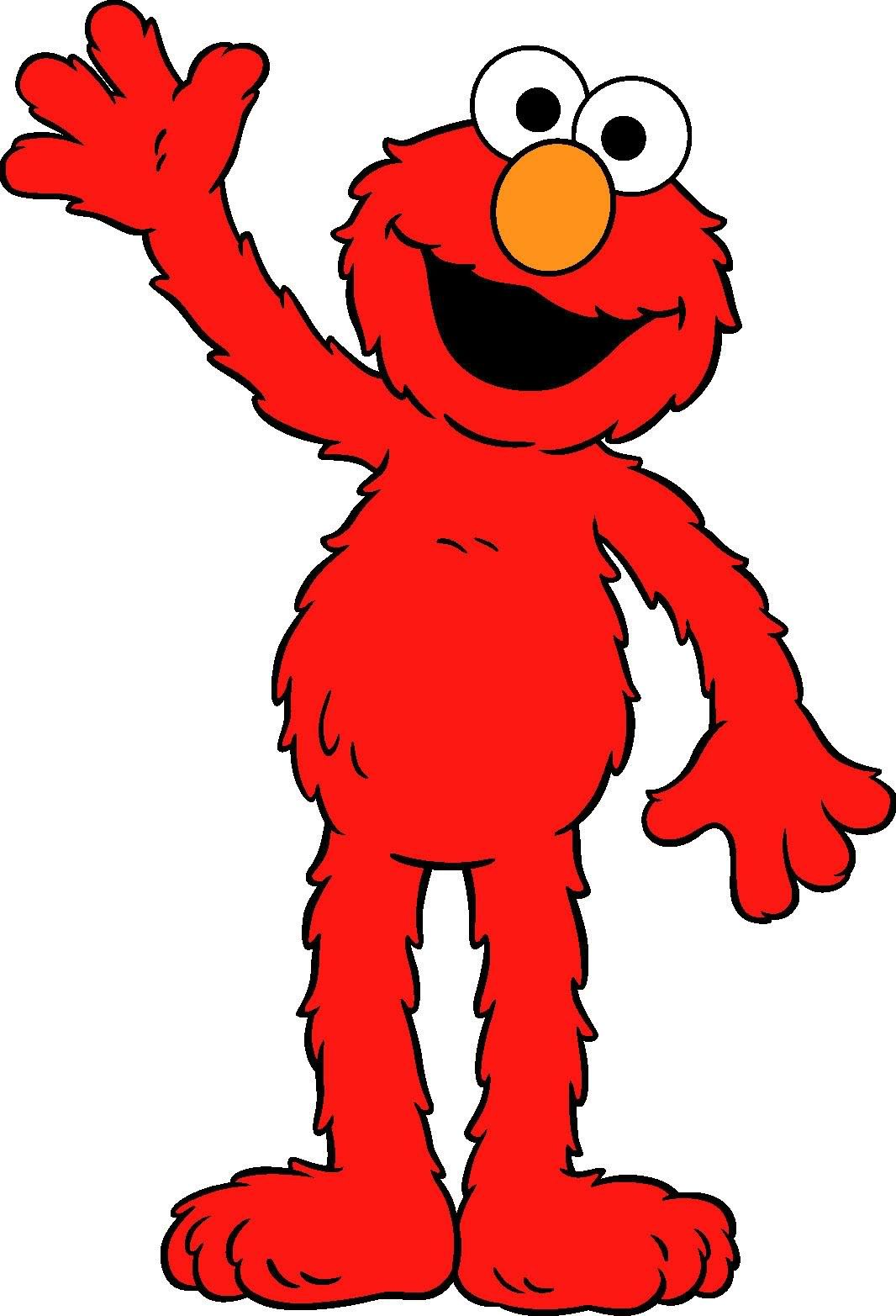1 clipart elmo. Baby and sesame streets