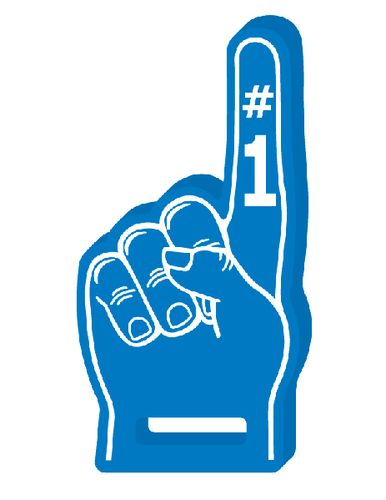1 clipart foam finger.  collection of high