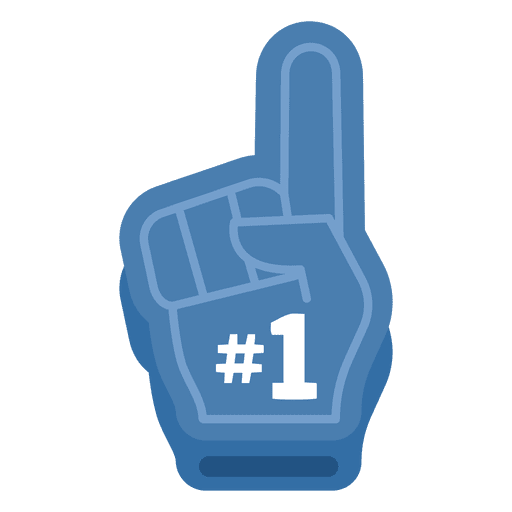Free icon download espn. 1 clipart foam finger