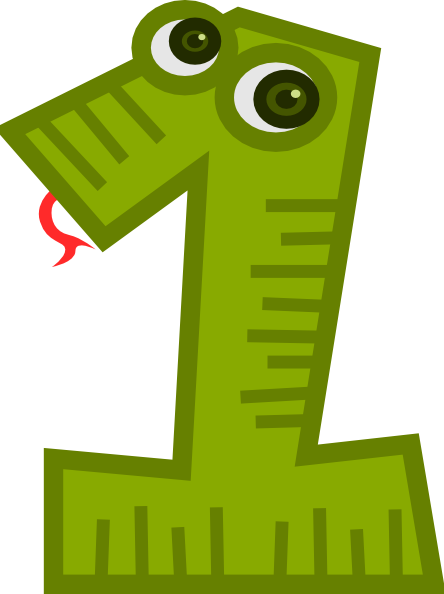 1 clipart green. Free