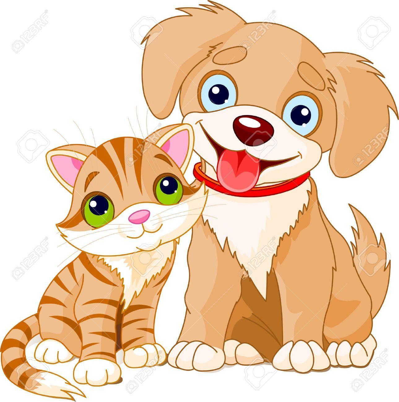 Puppy and jpg puppyandkittenclipartjpg. 1 clipart kitten