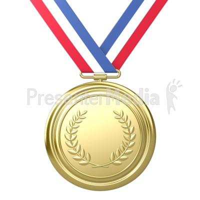 1 clipart medal. Metal award