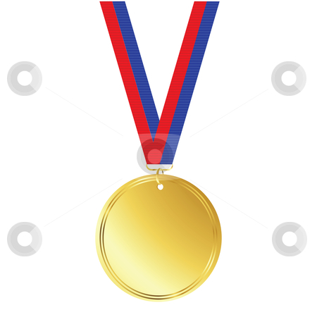 1 clipart medal. Gold free