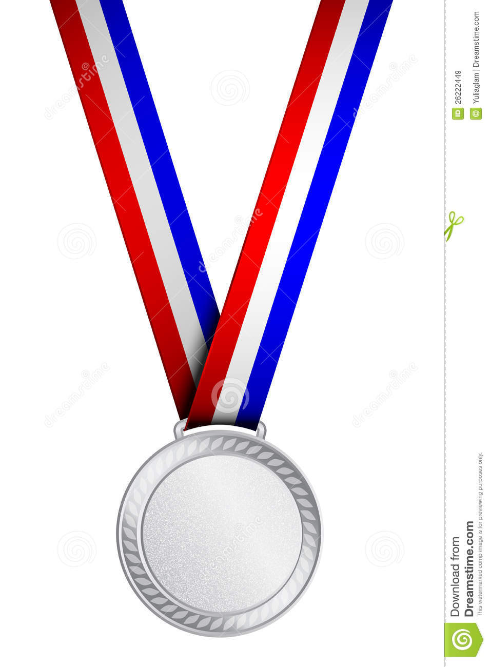 Silver award . 1 clipart medal