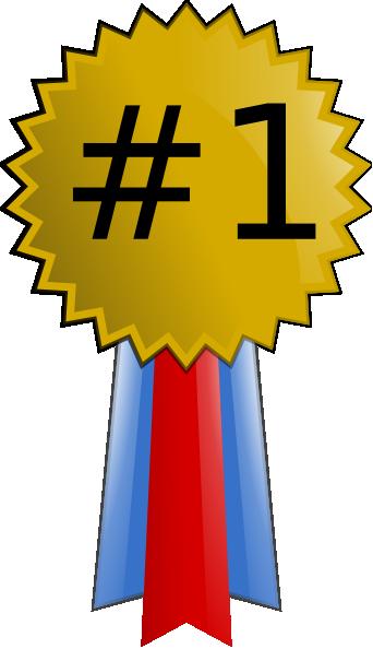 1 clipart medal