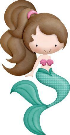 ocean safari c. 1 clipart mermaid