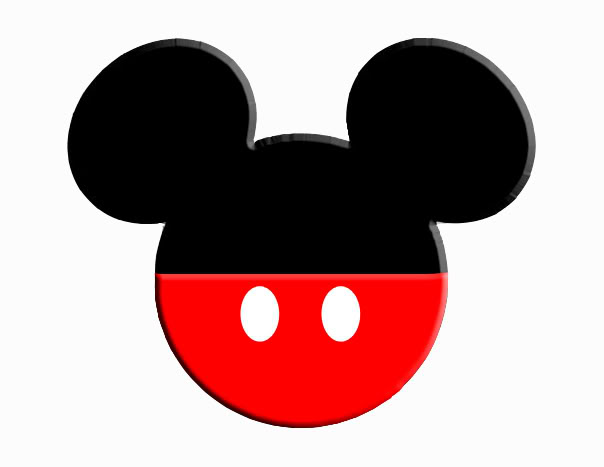 1 clipart mickey mouse. Head station