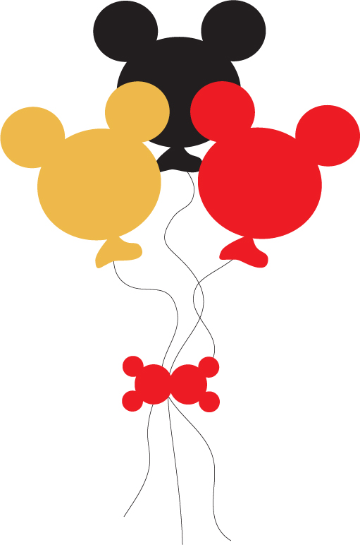 Balloons . 1 clipart mickey mouse