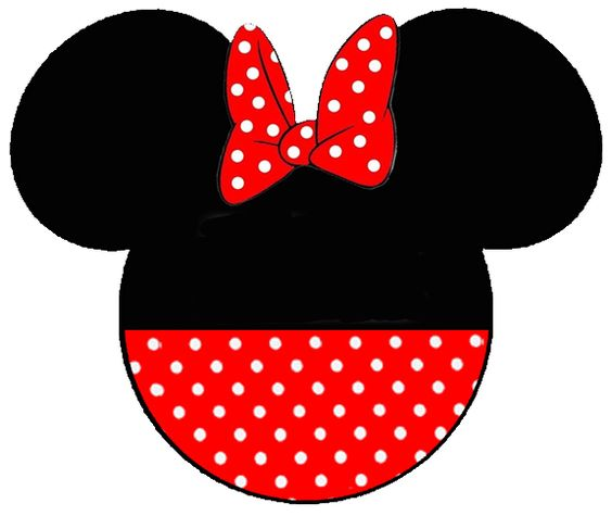 Face silhouette at getdrawings. 1 clipart minnie mouse