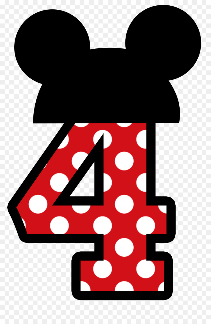 1 clipart minnie mouse. Mickey clip art no