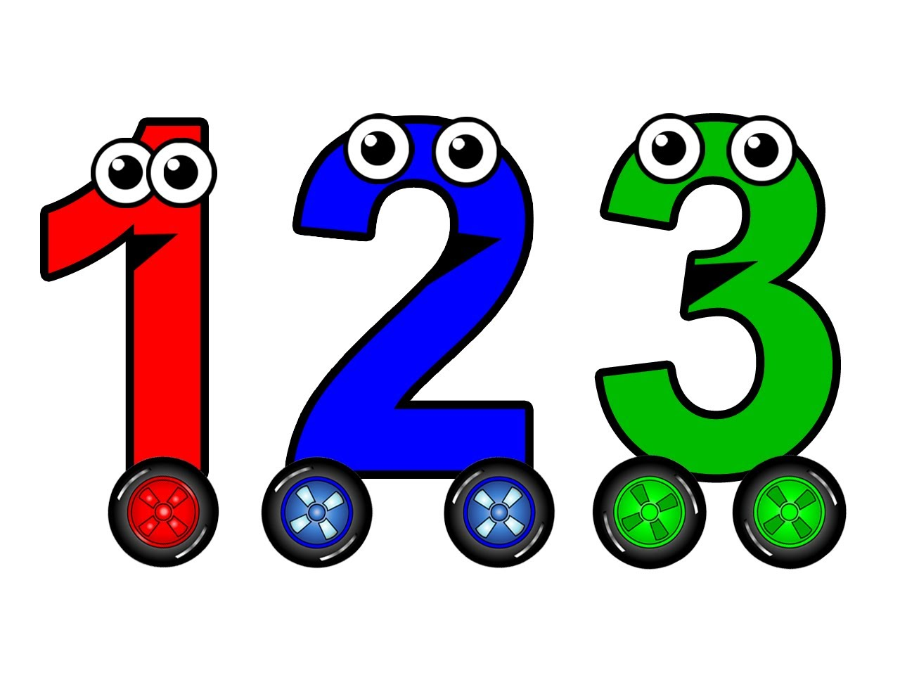 Numbers to chant learn. 1 clipart number 1