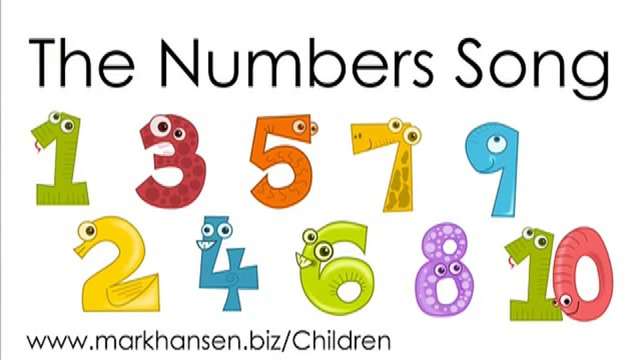 1 clipart number 1. Counting songs for children