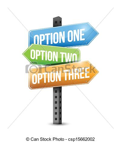 Options . 1 clipart option