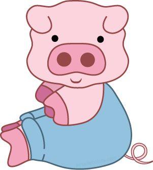 1 clipart pig.  best clip art