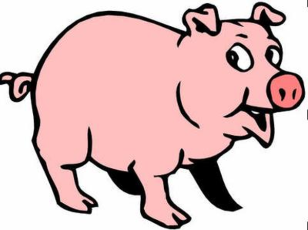 Big pig panda free. Pigs clipart