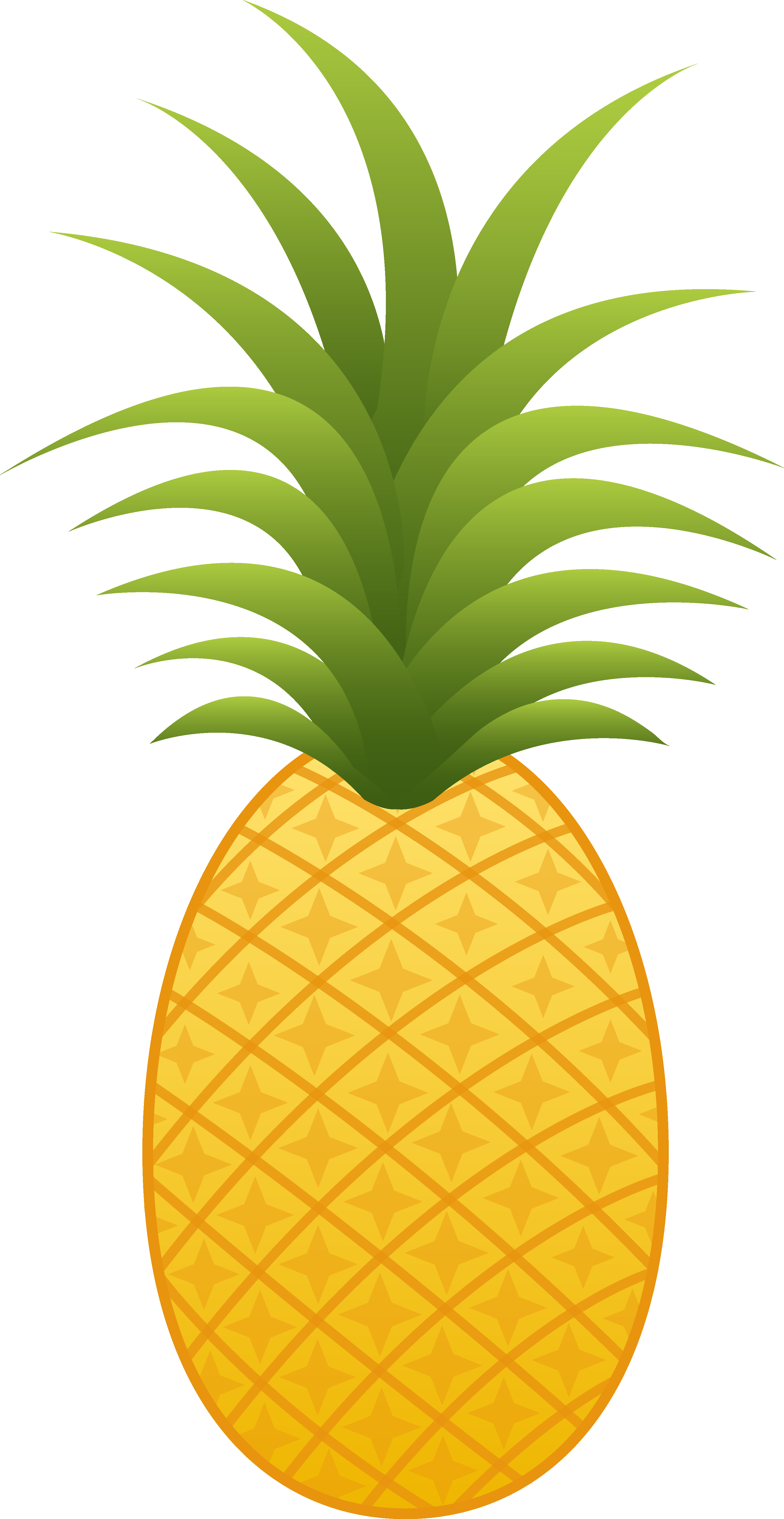 Pineapple Clip Art PNG