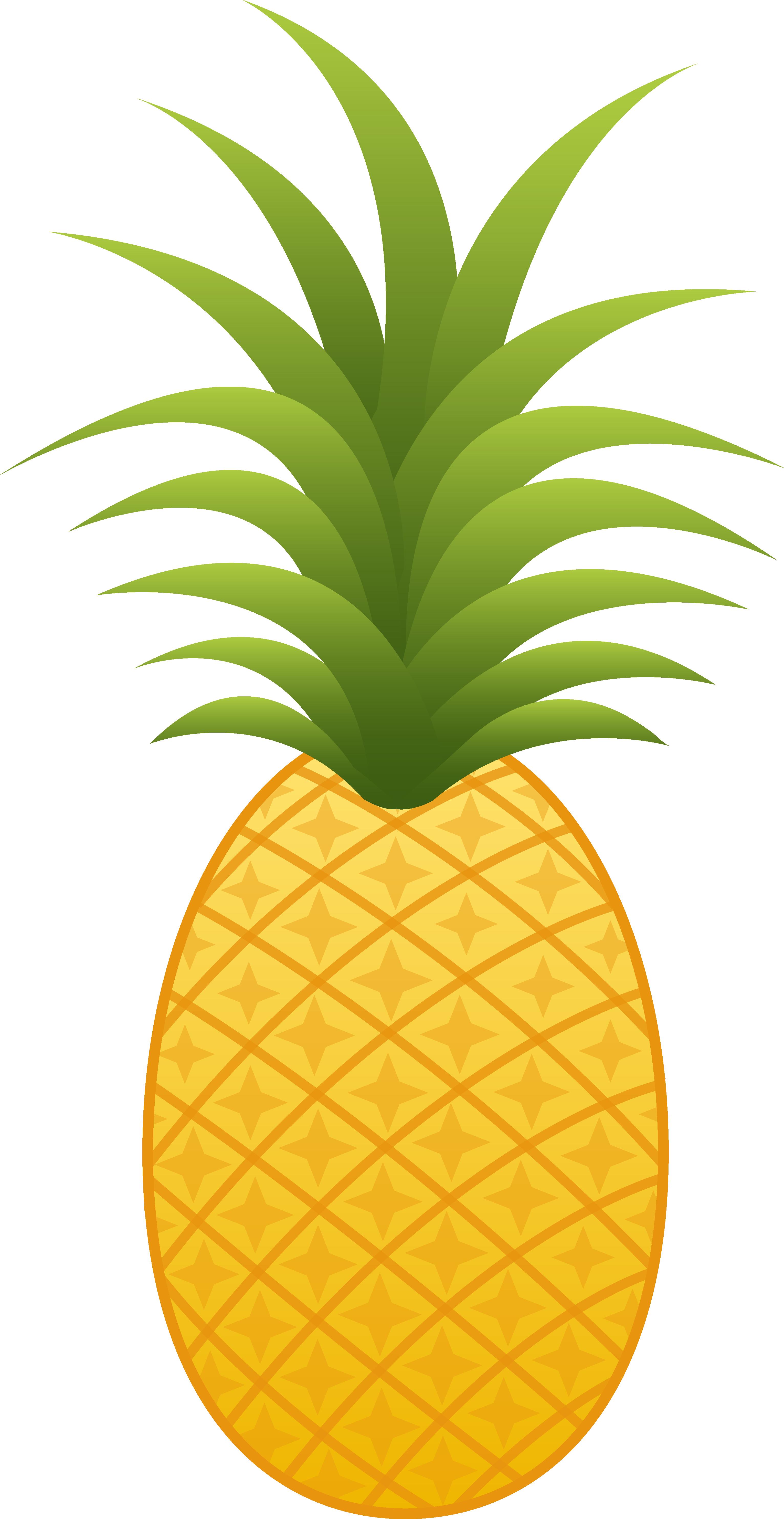 1 clipart pineapple. Clip art png mart