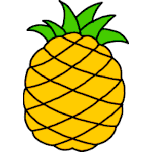 Hawaii clipart yellow food. Fruit free pineapple page