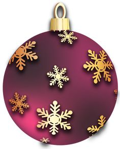 Christmas deep red ornament. 1 clipart purple
