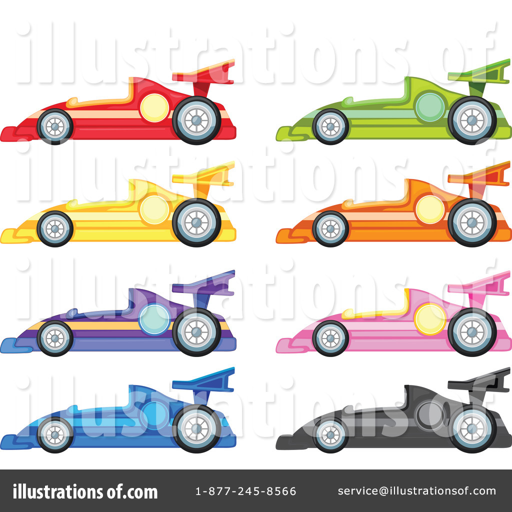 Illustration by graphics rf. 1 clipart race car