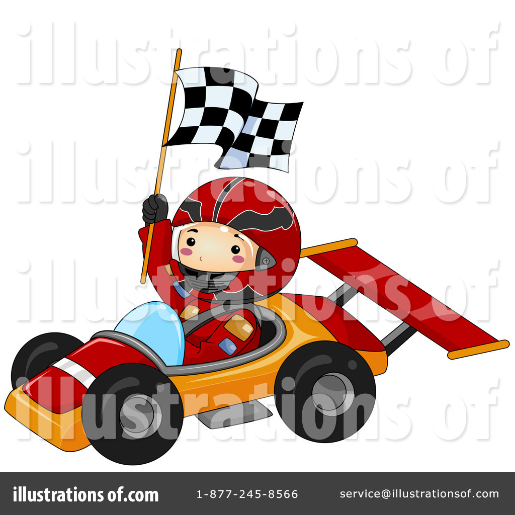 1 clipart race car. Illustration by bnp design