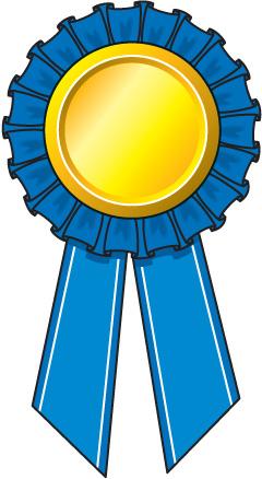 1 clipart ribbon. Winner