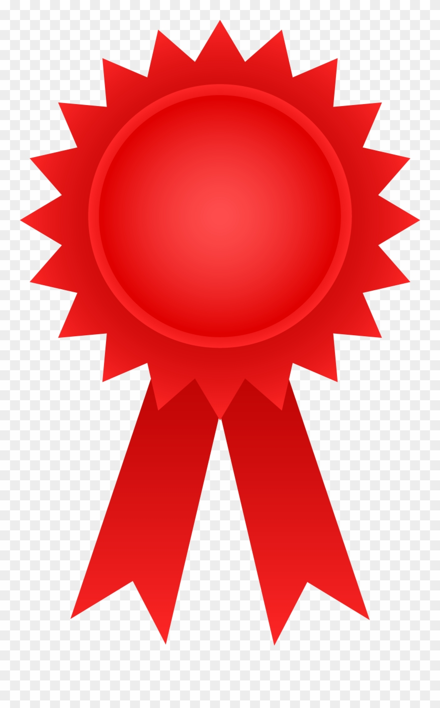 Prize clipart award ribbon. Red png download