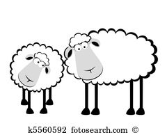 Station . 1 clipart sheep