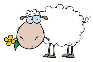 Cartoon . 1 clipart sheep