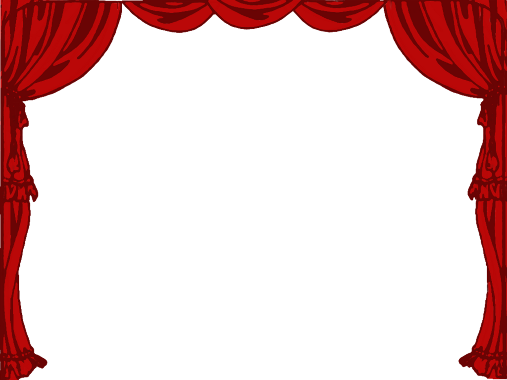 Stage curtains png by. Drama clipart talent show