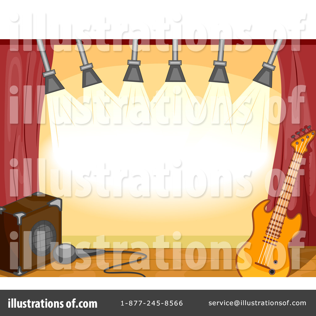 Illustration by bnp design. 1 clipart stage