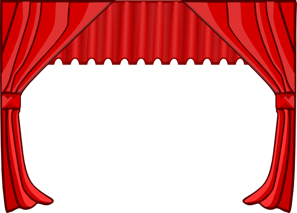 Free . Drama clipart stage direction