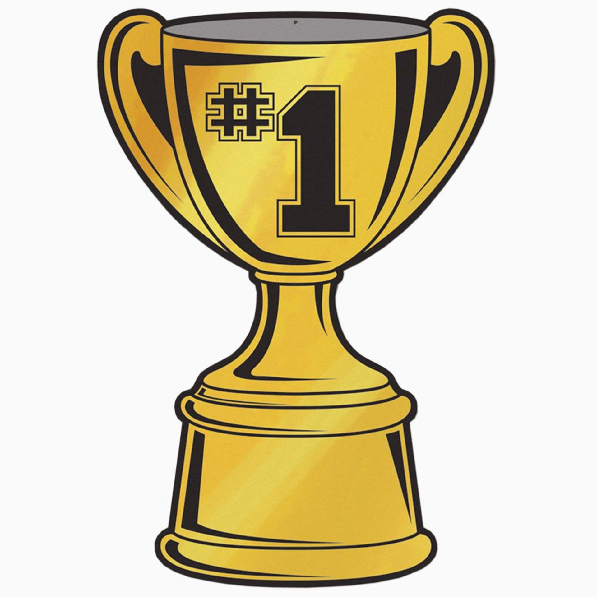 1 clipart trophy. Free image download clip