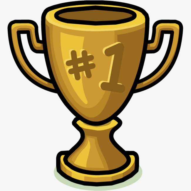 1 clipart trophy. Leave the cartoon championship