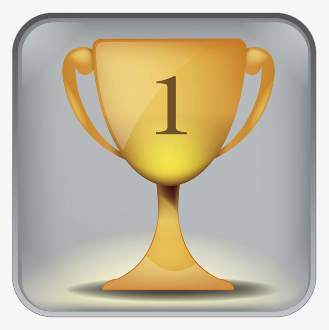 Rank no ranking first. 1 clipart trophy