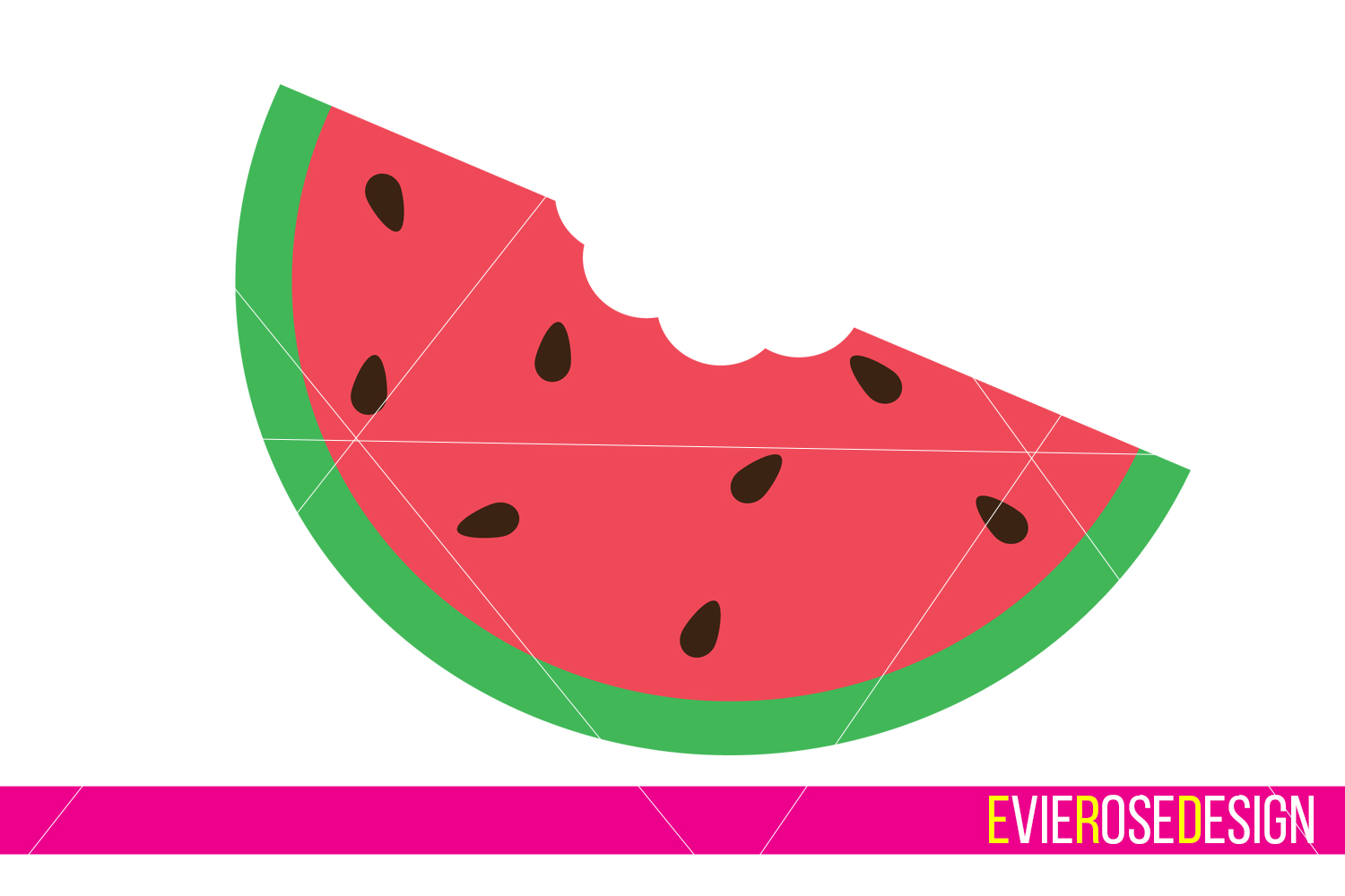 And cut set includes. Watermelon clipart file